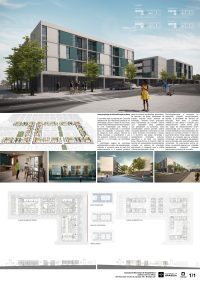 Premiados – Edifícios de Uso Misto no Sol Nascente - Trecho 2 – CODHAB-DF – Primeiro Lugar – Prancha Síntese