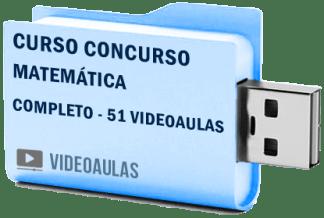 Curso Vídeo Aulas Completo Matemática Concursos ENEM Vestibular