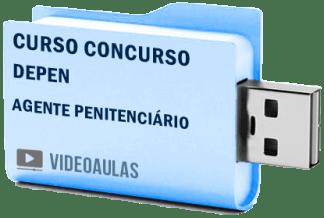 DEPEN Agente Penitenciário Vídeo Aulas Curso Concurso