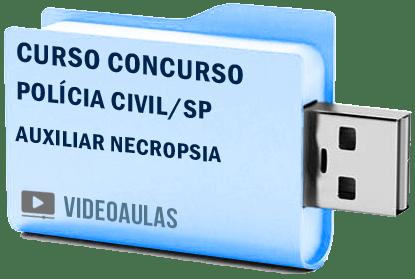 Curso Concurso Polícia Civil Sp Auxiliar Necropsia Vídeo Aulas