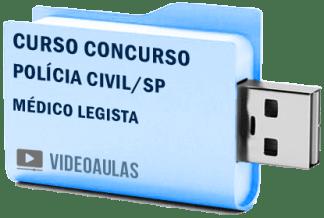 Curso Concurso Polícia Civil Sp Médico Legista Vídeo Aulas