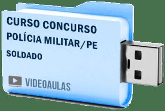 Curso Concurso Polícia Militar PM PE Soldados Vídeo Aulas
