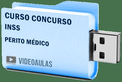 Concurso INSS Perito Médico Curso Videoaulas Pendrive