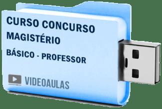 Magistério Curso Básico Educação Vídeo Aulas Professor