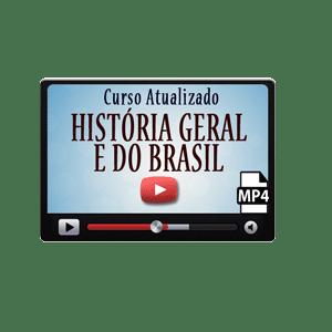 História Geral e do Brasil Curso Preparatório Vídeo Aulas