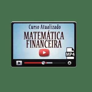 Curso Matemática Financeira Vídeo Aulas Concursos