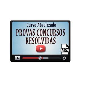 Provas Concursos Resolvidas Comentadas Curso Vídeo Aulas