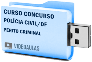 Curso Concurso Polícia Civil DF Perito Criminal Vídeo Aula