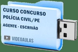 Curso Concurso Polícia Civil PE Agente Escrivão Vídeo Aula