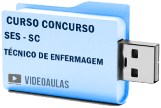 SES – SC Técnico Enfermagem Curso Concurso Vídeo Aulas