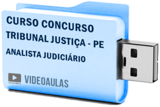 Tribunal Justiça PE Analista Judiciário Curso Concurso Vídeo Aulas