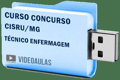 CISRU – MG Técnico Enfermagem Curso Concurso Vídeo Aulas