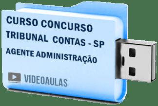 Tribunal Contas Sp Tce Agente Administração Curso Vídeo Aulas