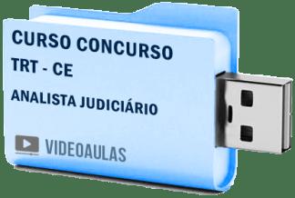 TRT CE Analista Área Judiciária Curso Concurso Vídeo Aulas