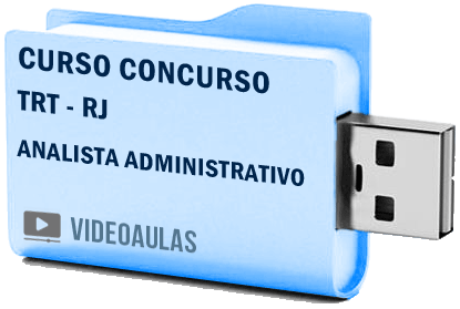 Curso Vídeo Aulas Concurso TRT – RJ – Analista Administrativo