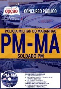 Apostila Concurso PM MA 2017 SOLDADO PM