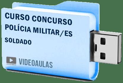 Curso Vídeo Aulas Concurso Polícia Militar – ES – Soldado 2018