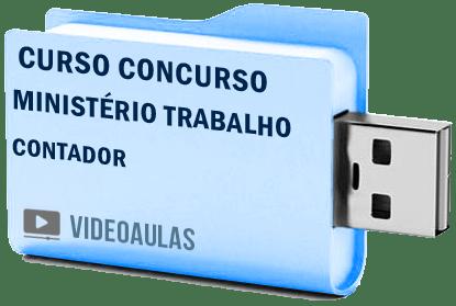 Curso Concurso Ministério Trabalho MTE Contador Vídeo Aulas