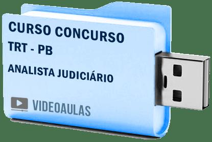 Curso Vídeo Aulas Concurso TRT – PB – Analista Judiciário