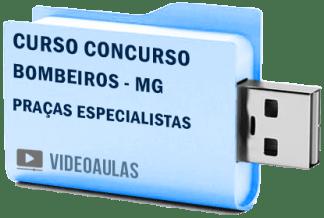 Curso Concurso Vídeo Aulas Bombeiros MG – QPEBM Praças Especialistas 2018