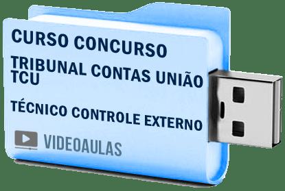 Curso Concurso Vídeo Aula Tribunal Contas União TCU Técnico Controle Externo 2018