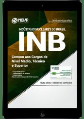 Download Apostila INB PDF 2018 – Comum aos Cargos de Nível Médio, Técnico e Superior