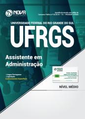 Apostila UFRGS 2018 – Assistente em Administração