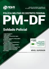 Apostila Polícia Militar – DF 2018 – Soldado Policial