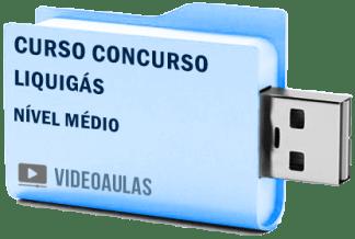 Curso Vídeo Aulas Concurso Liquigás – Nível Médio – Conhecimentos Básicos 2018 – Pendrive