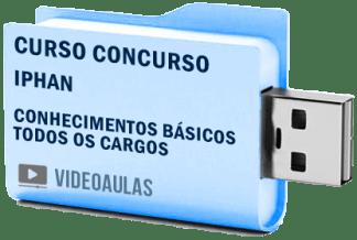 Curso Vídeo Aulas Concurso IPHAN – Todos Cargos 2018