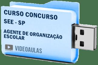 Curso Vídeo Aulas Concurso SEE – SP – Agente Organização Escolar 2018