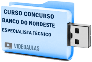 Curso Concurso Banco Nordeste – Especialista Técnico – Vídeo Aulas Pendrive