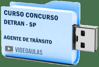 Curso Concurso Detran SP Agente Trânsito Videoaulas