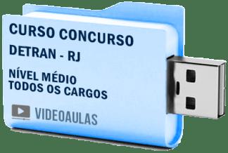 Curso Concurso Detran RJ Médio Todos Cargos Videoaulas