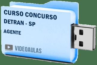 Curso Concurso Detran SP Agente Videoaulas