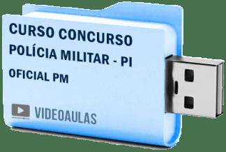 Curso Concurso Polícia Militar PI – Oficial PM Vídeo Aulas