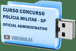 Curso Concurso Polícia Militar SP – Oficial Administrativo Vídeo Aulas