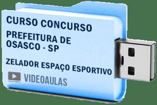 Curso Concurso Prefeitura Osasco – SP – Zelador de Espaço Esportivo – Videoaulas
