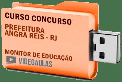 Concurso Prefeitura Angra dos Reis – RJ – Monitor Educação Curso Videoaulas
