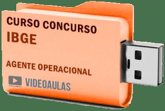Concurso IBGE Agente Operacional Curso Videoaulas