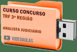 Concurso TRF 3ª Região Analista Judiciário Curso Videoaulas
