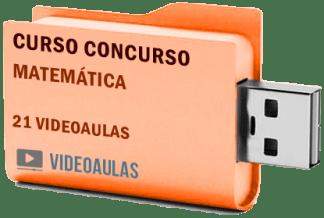 Curso Matemática Concursos ENEM Vestibular Videoaulas Pendrive