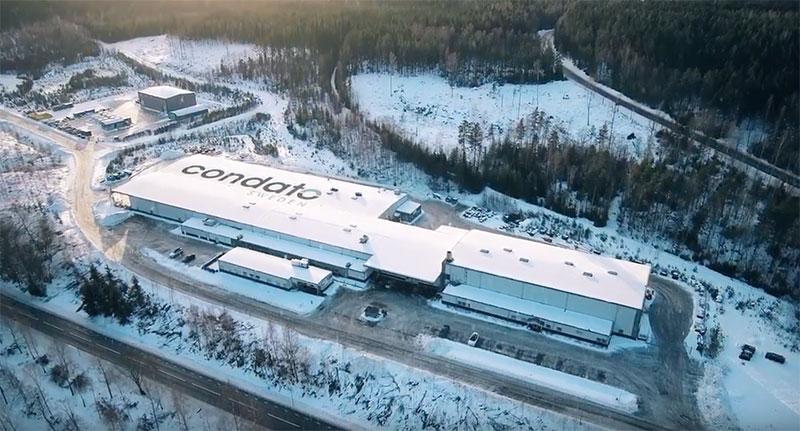 Condato Factory in Degersfors, Sweden