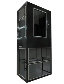 Black home lift from Condato India