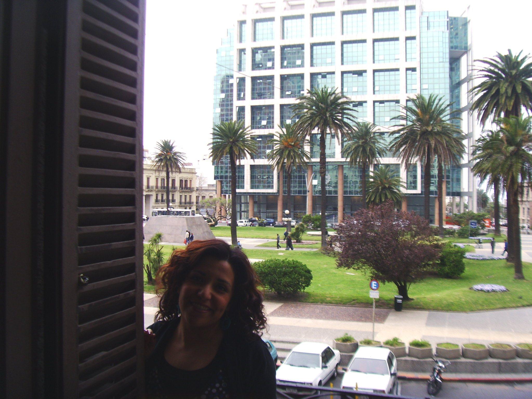 Mi balcón en pleno centro