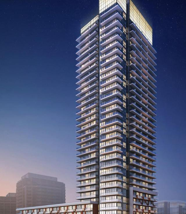 Fortune Condos Building View Toronto, Canada