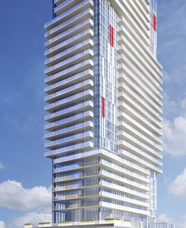 155 Redpath Condos Building View Toronto, Canada