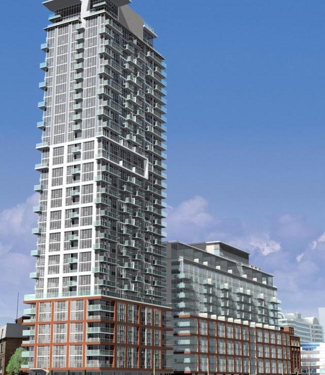 Boutique Condos Building View Toronto, Canada