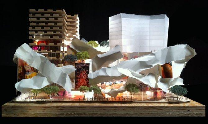 Mirvish Gehry Condos Model Toronto, Canada
