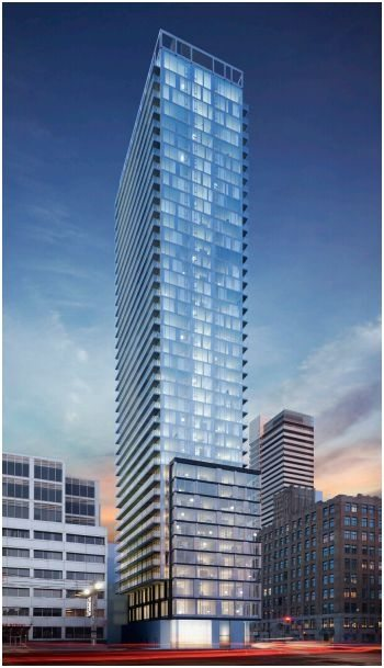 Peter Street Condos Building View Toronto, Canada